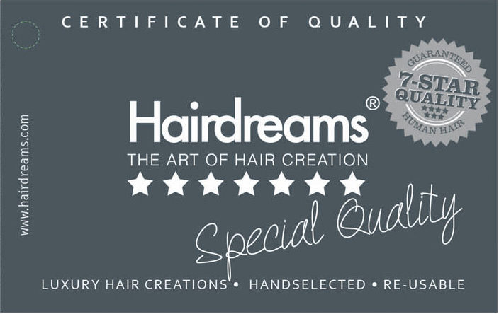 Hairdreams 7-Sterne-Qualitätg